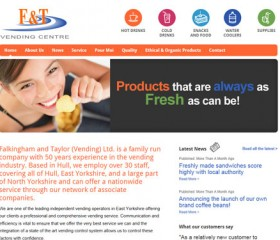 FT Vending - Website Design Hull, Yorkshire, by Weborchard