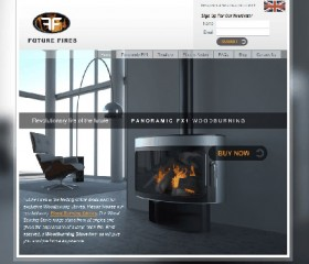 Future Fires Website Design - Weborchard