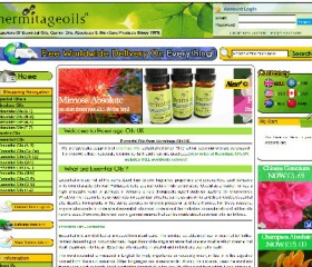 Hermitage Oils E commerce Website Design | Weborchard, Hull, Yorkshire