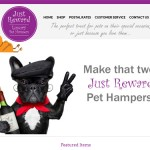 Responsive Ecommerce Website Design Hull - Just Reward Pet Hampers