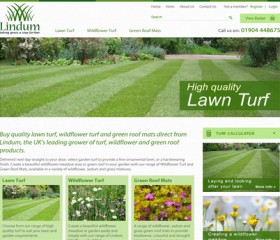 Lindum Turf - Ecommerce Website Design Hull by Weborchard