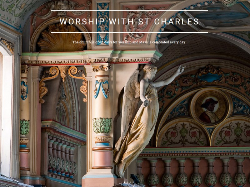 Website Design Hull - Responsive Website Design for St Charles Church Hull by Weborchard, Beverley, Hull, Yorkshire