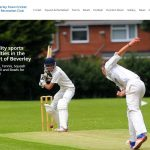 Beverley Town Cricket and Recreation Club website design by Weborchard
