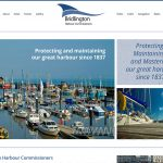Website Design Beverley Website Design Hull by Weborcahrd Yorkshire Bridlington Harbour Commissioners