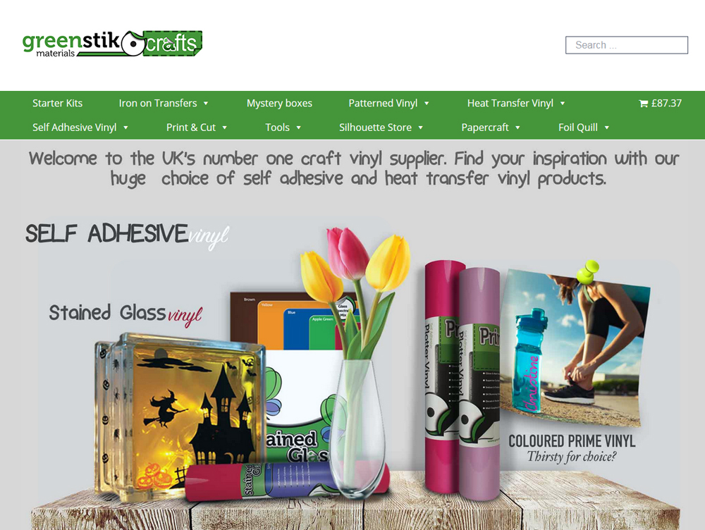 GM Crafts ecommerce website design Weborchard Beverly Hull East Yorkshire