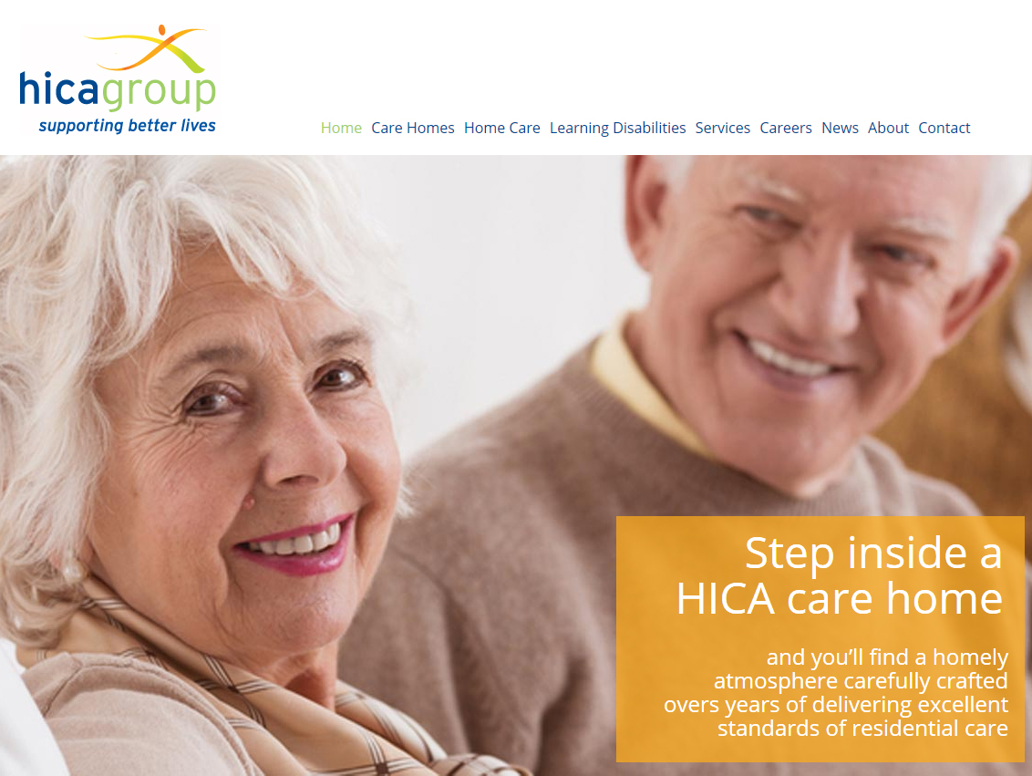 HICA Group Website Design Hull, Weborchard Website Design Beverley, East Yorkshire