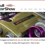 Website Design Hull, Responsive Web Design Hull - Hull Motor Show website by Weborchard, Yorkshire
