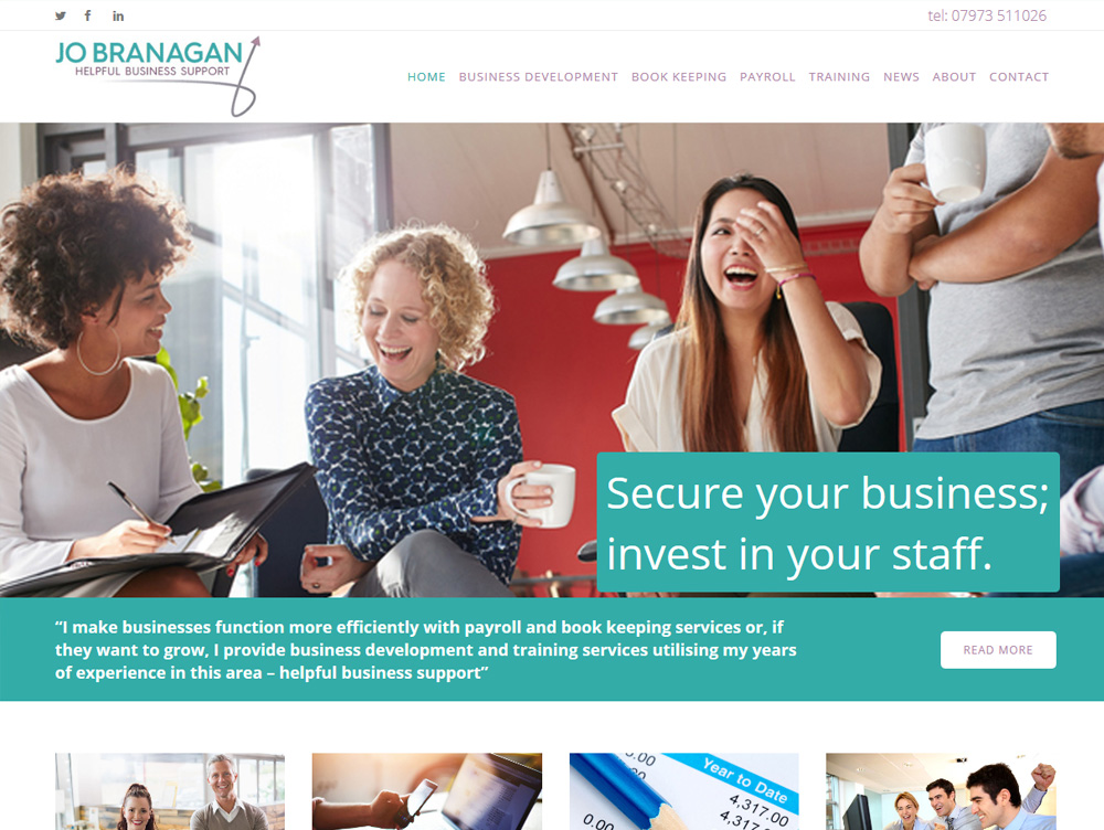 Website Design Beverley Jo Branagan Website Design Hull by Weborchard