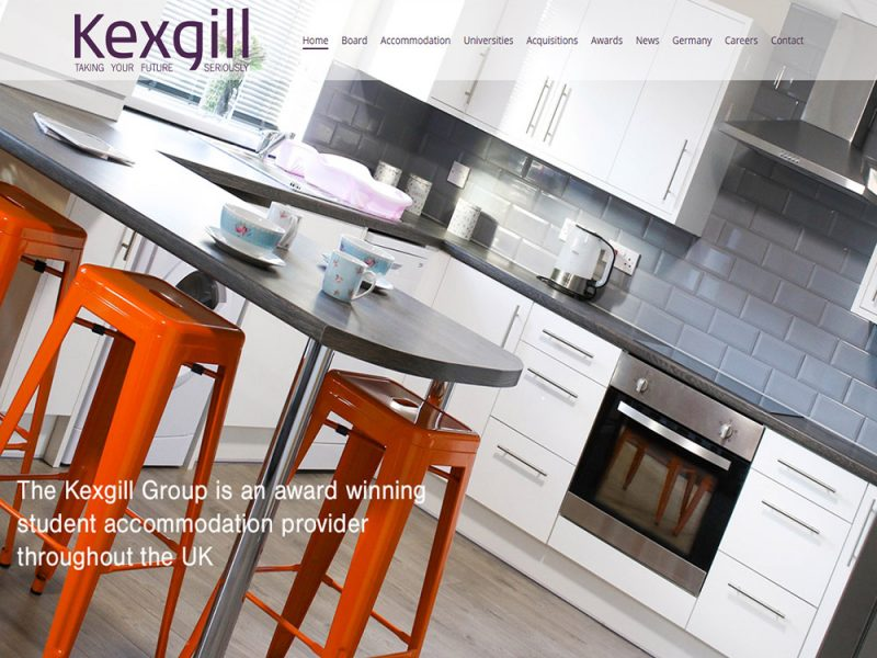 Website Design Hull Website Design Beverley by Weborchard East Yorkshire - Kexgill Group website