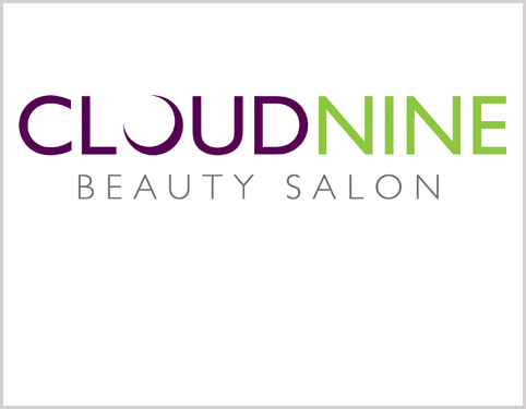 Logo Design Hull - Cloud Nine Beauty Salon Branding by Weborchard Website Design Beverley East Yorkshire