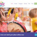 Website Design Hull Website Design Beverley Music Time by Weborchard