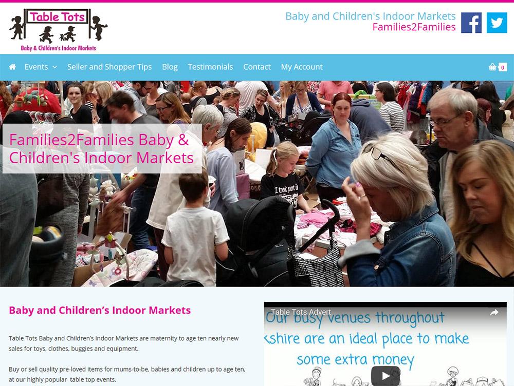 Website Design Beverley Website Design Hull by Weborcahrd Table Tots Yorkshire