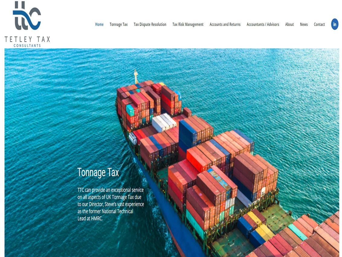 Web Designers in Beverley - Weborchard Website Design for Tetley Tax Consultants
