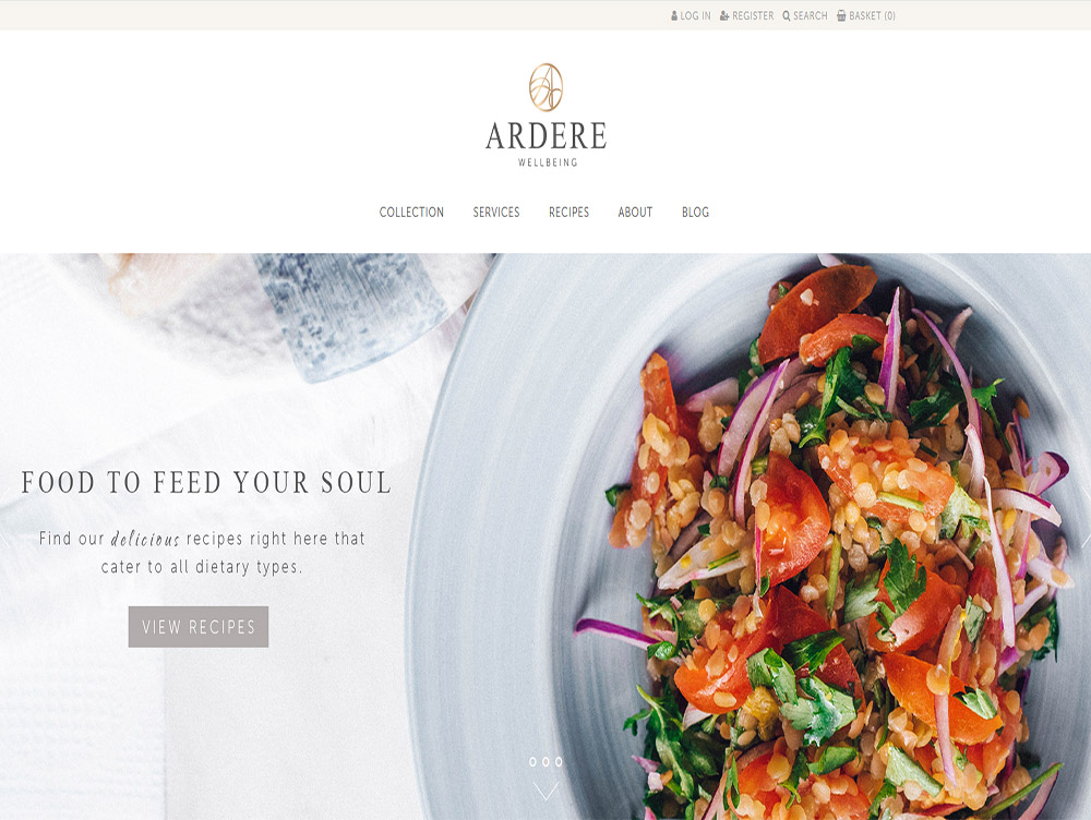 Ecommerce Website Design Beverley Hull Weborchard - Ardere Wellbeing London