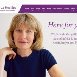 Website Design Hull by Weborchard Beverley East Yorkshire for the Bijoux Medi Spa Belgravia London