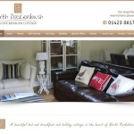 Responsive Website Design Hull by Weborchard - North Dockenbush Holiday Cottage, Bed and Breakfast