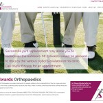 Responsive Website Design Hull, Yorkshire, Weborchard - Edwards Orthopaedics