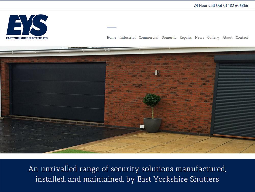 Website Design Hull Beverley East Yorkshire by Weborchard Responsive Eas Yorkshire Shutters