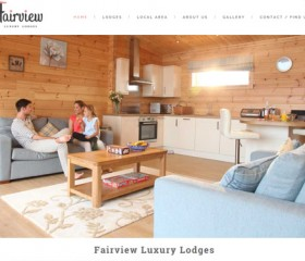 Responsive website Design Hull by Weborchard - Fairview Holiday Lodges