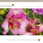 Responsive Website Design Hull, Yorkshire, Weborchard - Flower Outlet Website