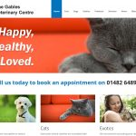 Website Design Beverley Website Design Hull by Weborcahrd Yorkshire Gables Vets