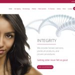 Website Design Hull Web Design Beverley, Weborchard, IntoSkin Medical London Canary Wharf