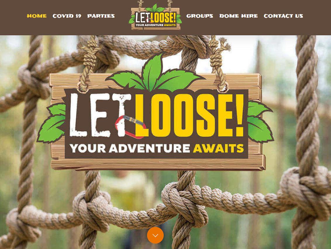 Responsive Website Design Beverley by Weborchard - Let Loose Yorkshire