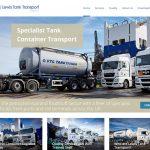 ebsite Design Hull Weborchard Beverley Woodmansey East Yorkshire Lewis Tank Transport Responsive