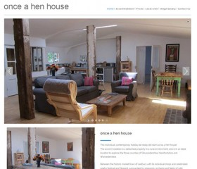 Responsive Website Design Hull by Weborchard - Once a Hen House Website