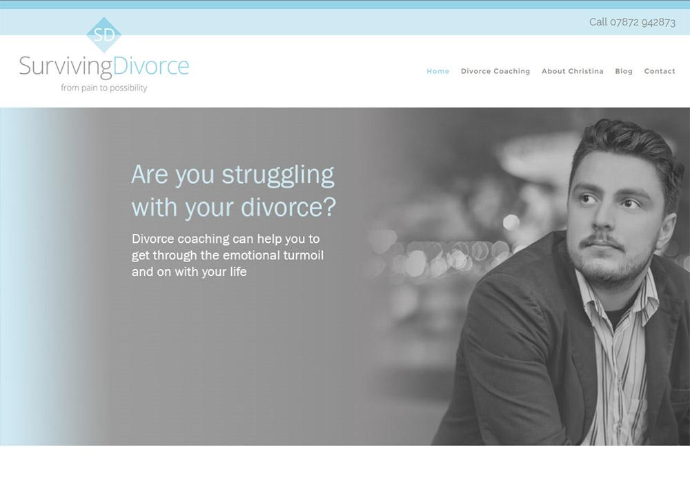 Website Design Hull by Weborchard - Surviving Divorce Responsive Website Design Hull, Yorkshire