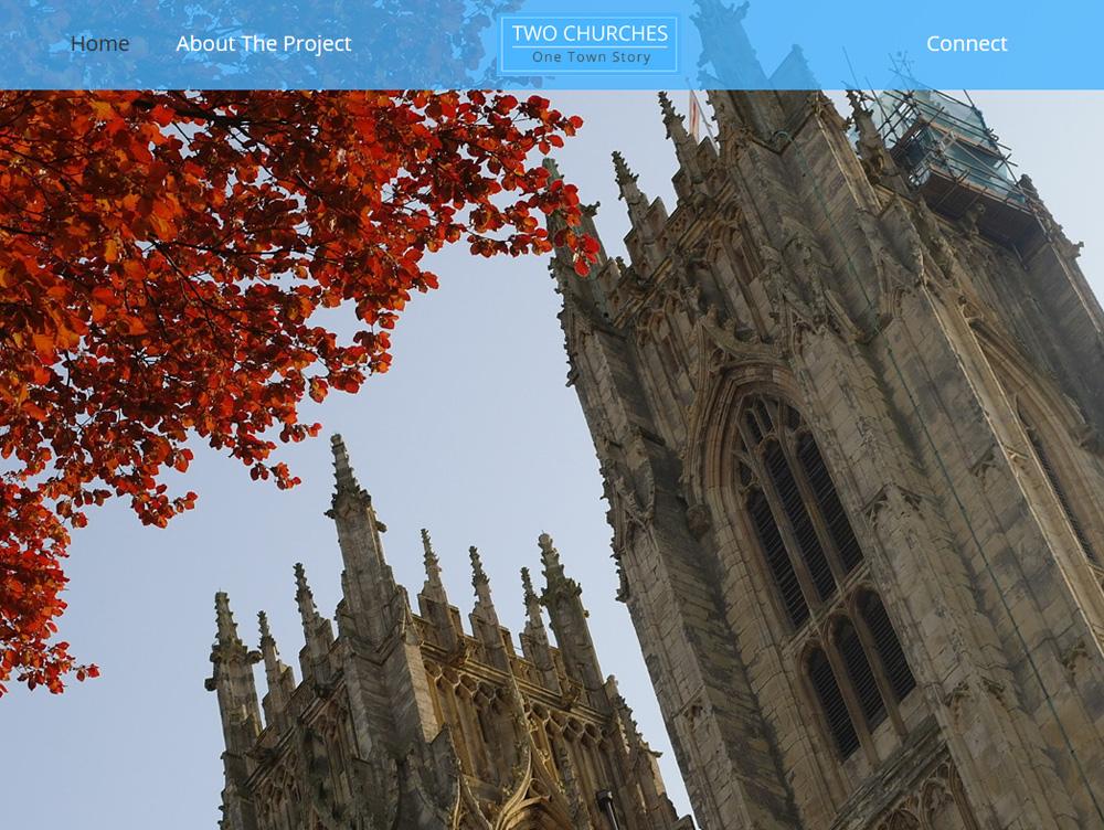 Two Churches Website Design Beverley Website Design Hull Weborchard