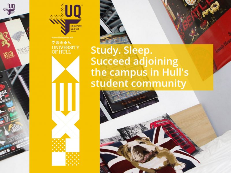 Beverley Web Design and Website Design Hull - University Quarter in partnership with The University of Hull - Weborchard