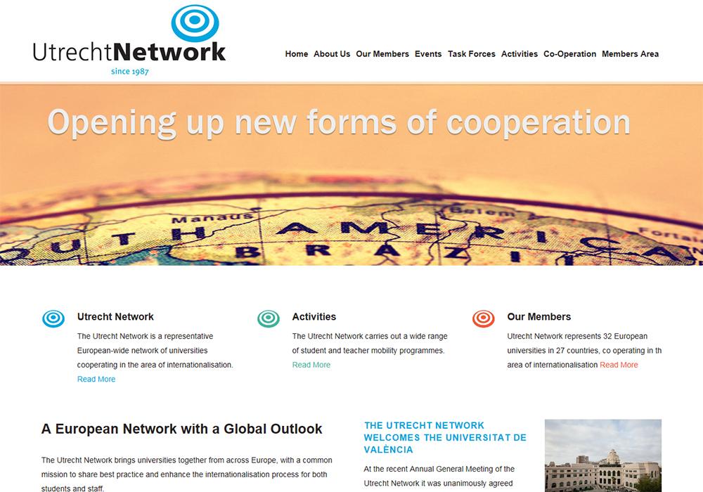 Website Design Hull, Responsive Web Design Hull, Yorkshire by Weborchard - Utrecht Network, Hull University website